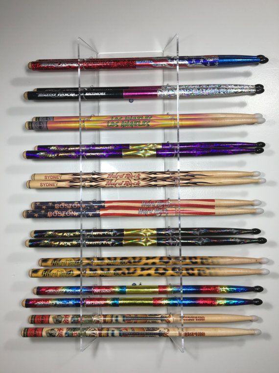drumstick display 10 sets drum stick holder drumstick rack acrylic in 2019 drumstick. Black Bedroom Furniture Sets. Home Design Ideas