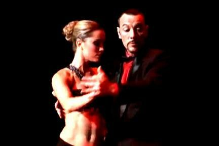 Tango show by Diego Santana and Maria Pia Sanz www.diegosantanatango.com