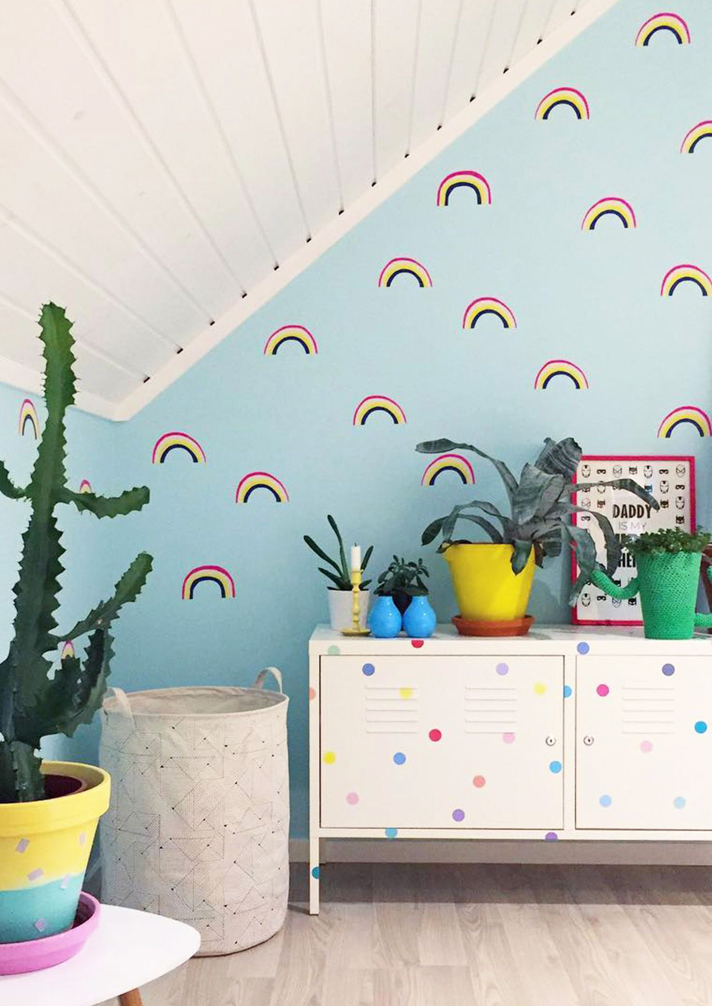 Rainbow Decals Make Any Space Feel Playful And Creative