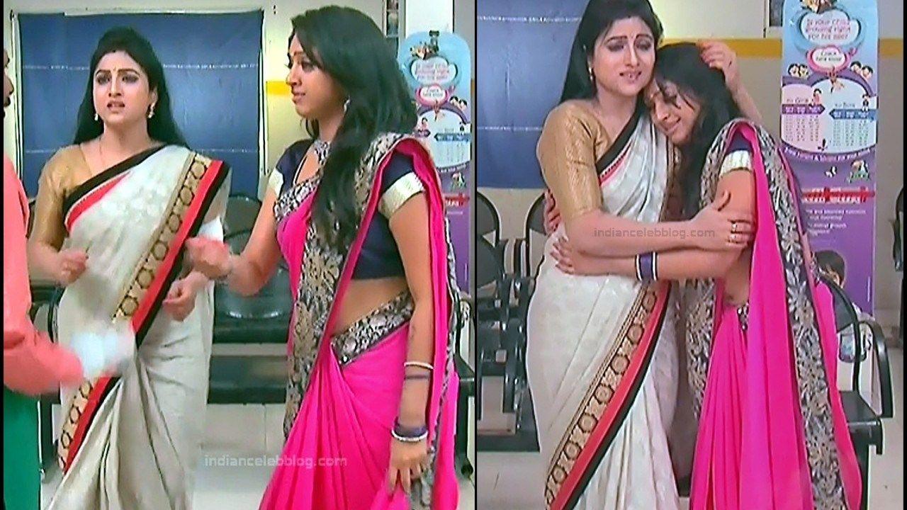 Suryavamsam Zee Telugu Serial Actress Mythili Saree Navel Show Photos South Indian Actress Pho South Indian Actress Photo Saree Navel Indian Actress Photos