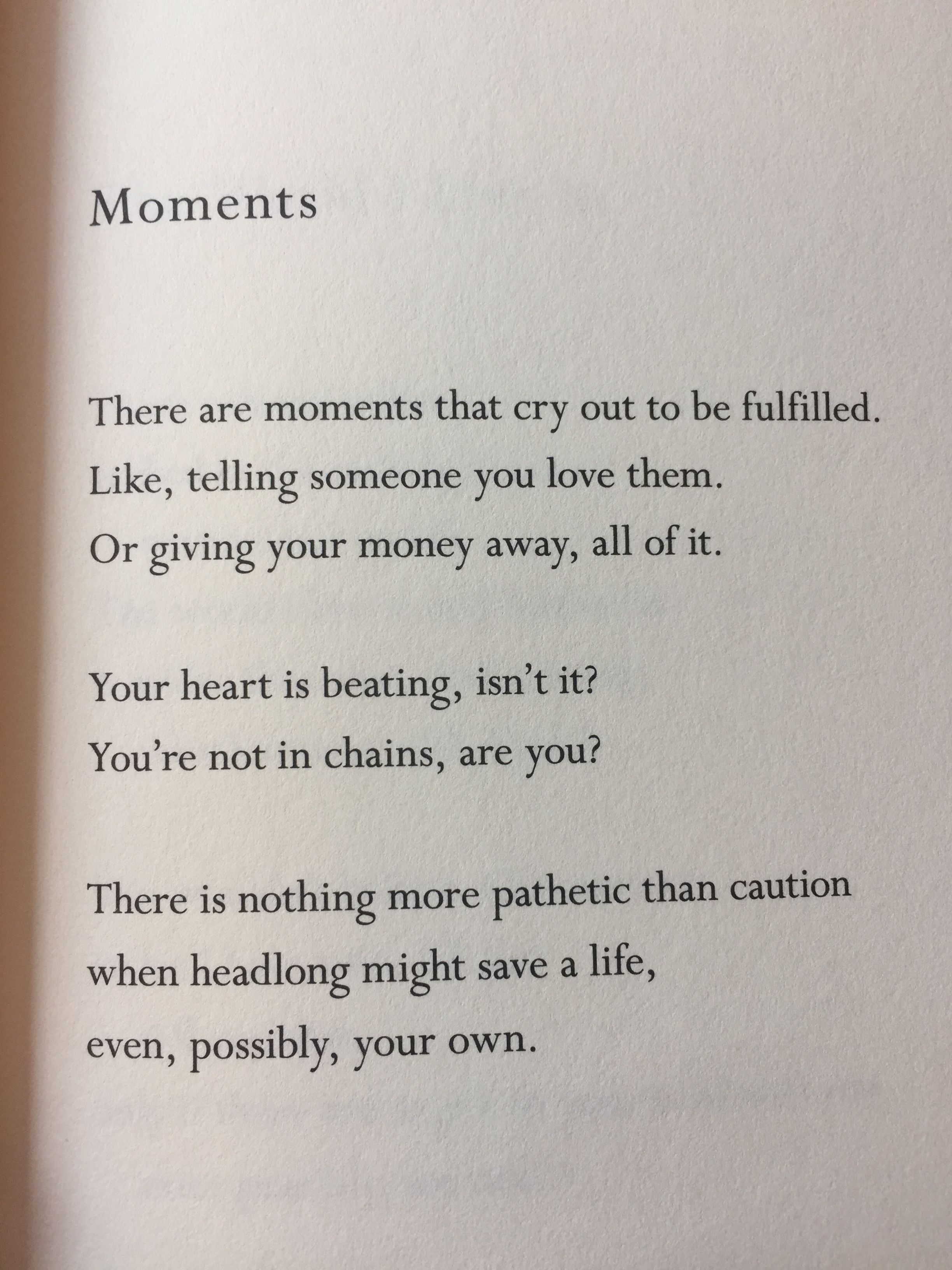 Moments Mary Oliver Favorite Quotes In This Moment Quotes