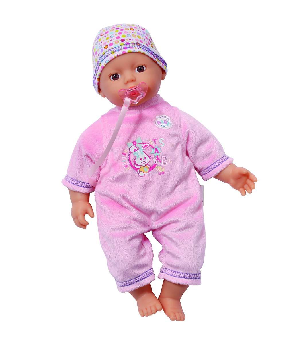 Baby Born My Little Baby Born Supersoft Light Pink Buy