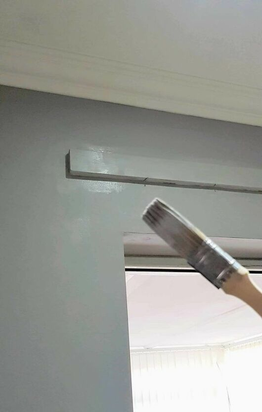How To Put Up A Curtain Pole Batten With Grab Adhesive Curtain Poles Hanging Curtains Curtains Without Drilling