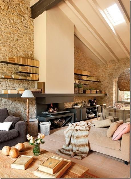 Idee Per Ristrutturare Casa Rustica.Rilassante Casa In Campagna Da Un Ex Fienile Architettura Di
