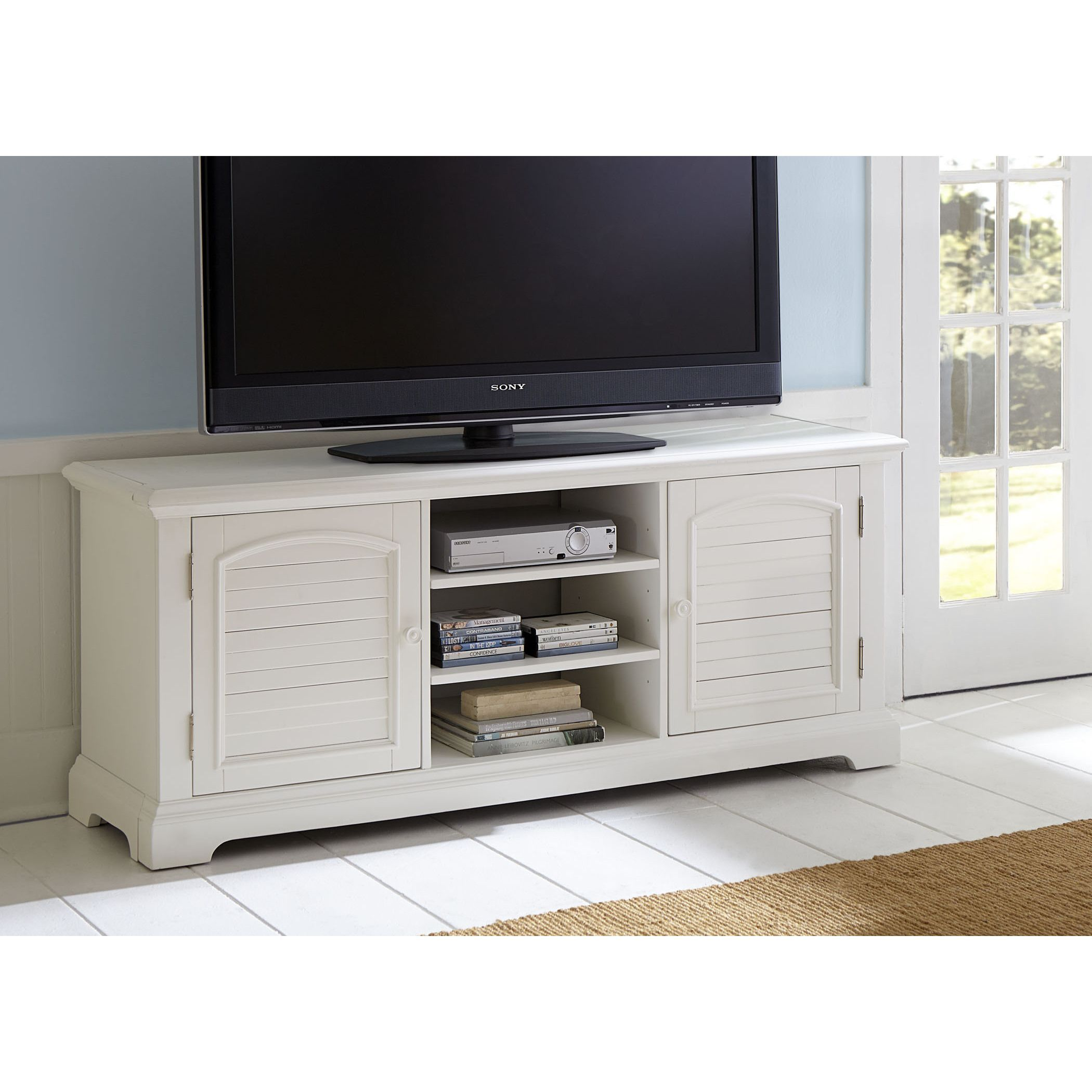 Liberty Summer House Oyster Tv Stand