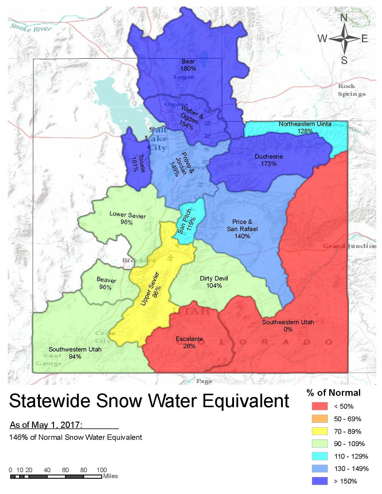 NRCS Utah Snow Survey/ Snow Pack Natural Resource