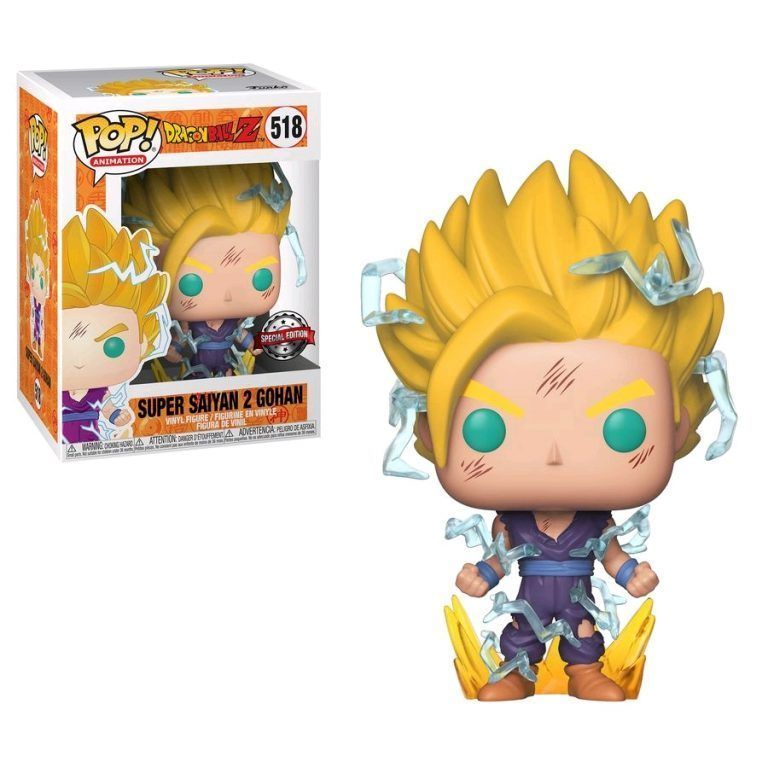 Pop Animation Dragon Ball Z Vinyl Figure #492 Super Saiyan 3 Goku Pop