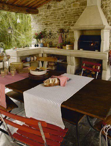 cuisine dt exterieur murs et barbecue pierre