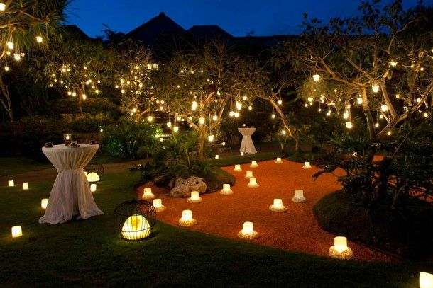 bulgari resort bali with outdoor party decor - Outdoor Party Decorations