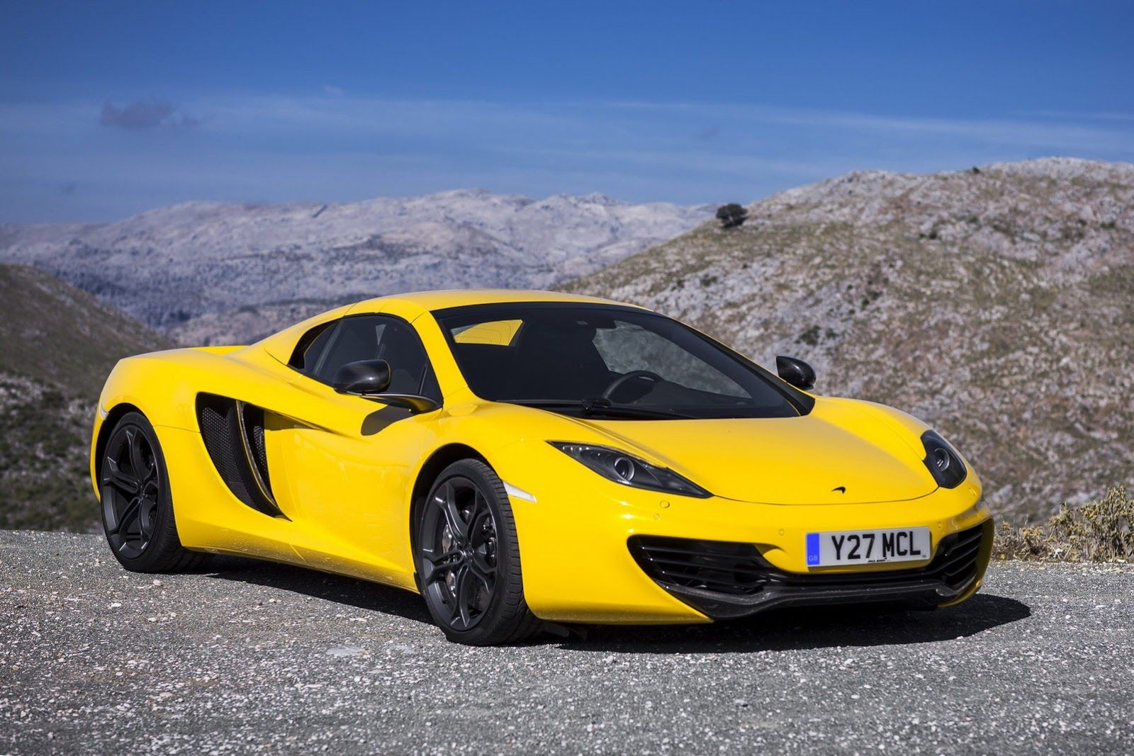 Mclaren Unleashes 72 Photos And Full Specs Of New Mp4 12c Spyder
