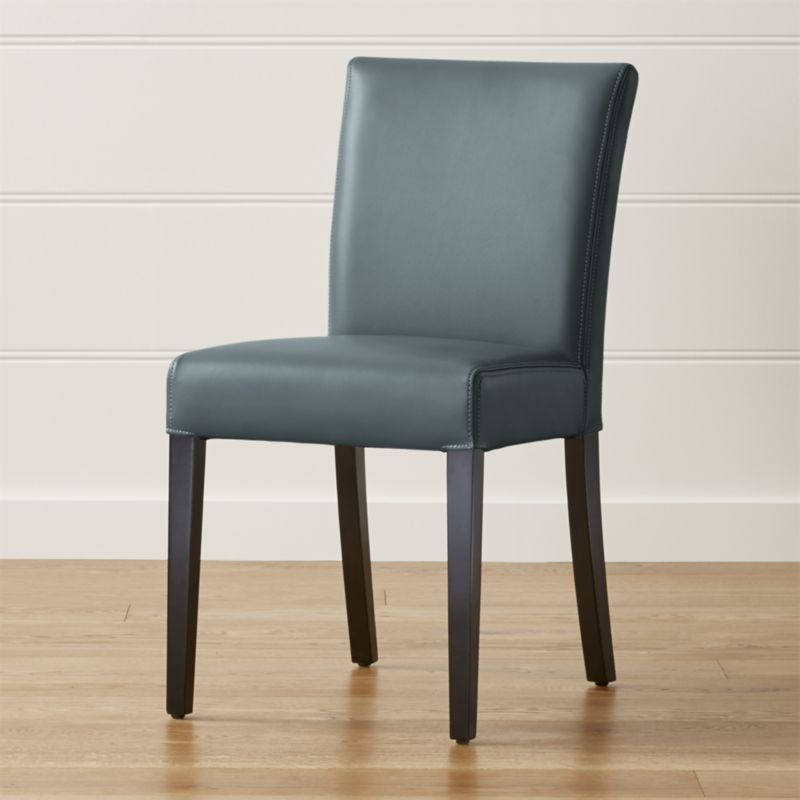 Shop Lowe Ocean Leather Dining Chair Stylish And Contemporary