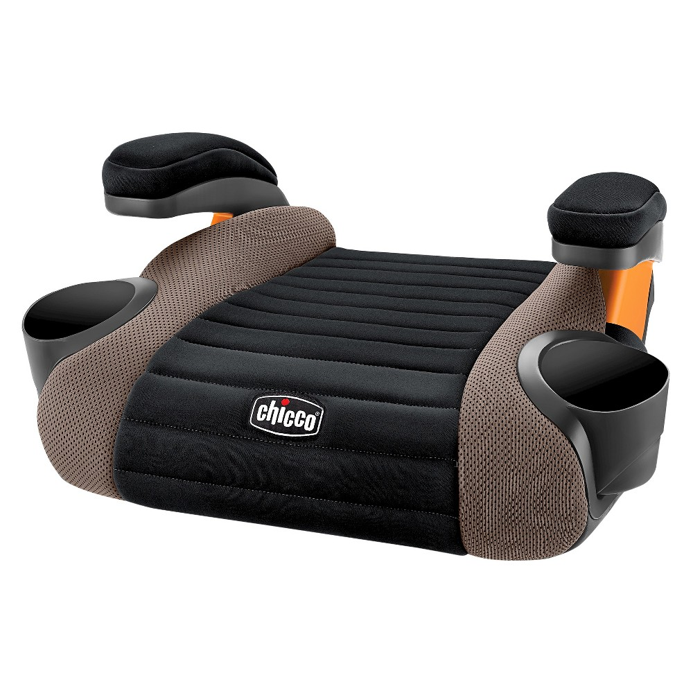 Chicco GoFit No Back Booster Car Seat Caramel Backless