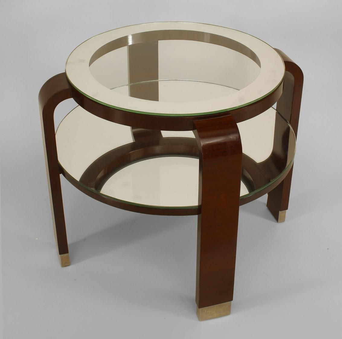 Art Deco French Table End Table Palisander