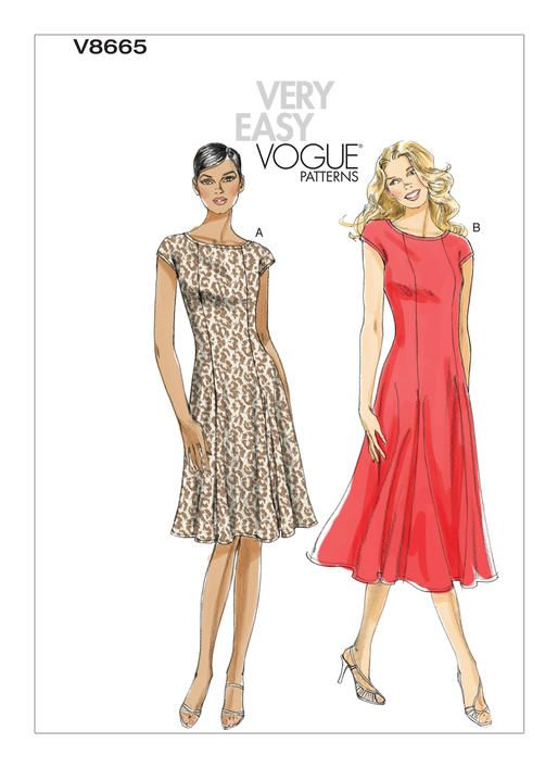 V8665 Vogue Patterns Formal Dress Patterns Pinterest Vogue