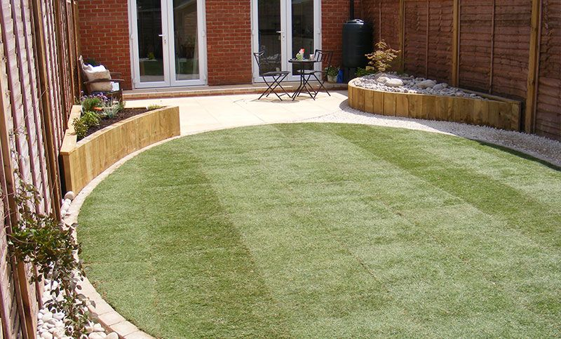 New Build Garden Design Google Search