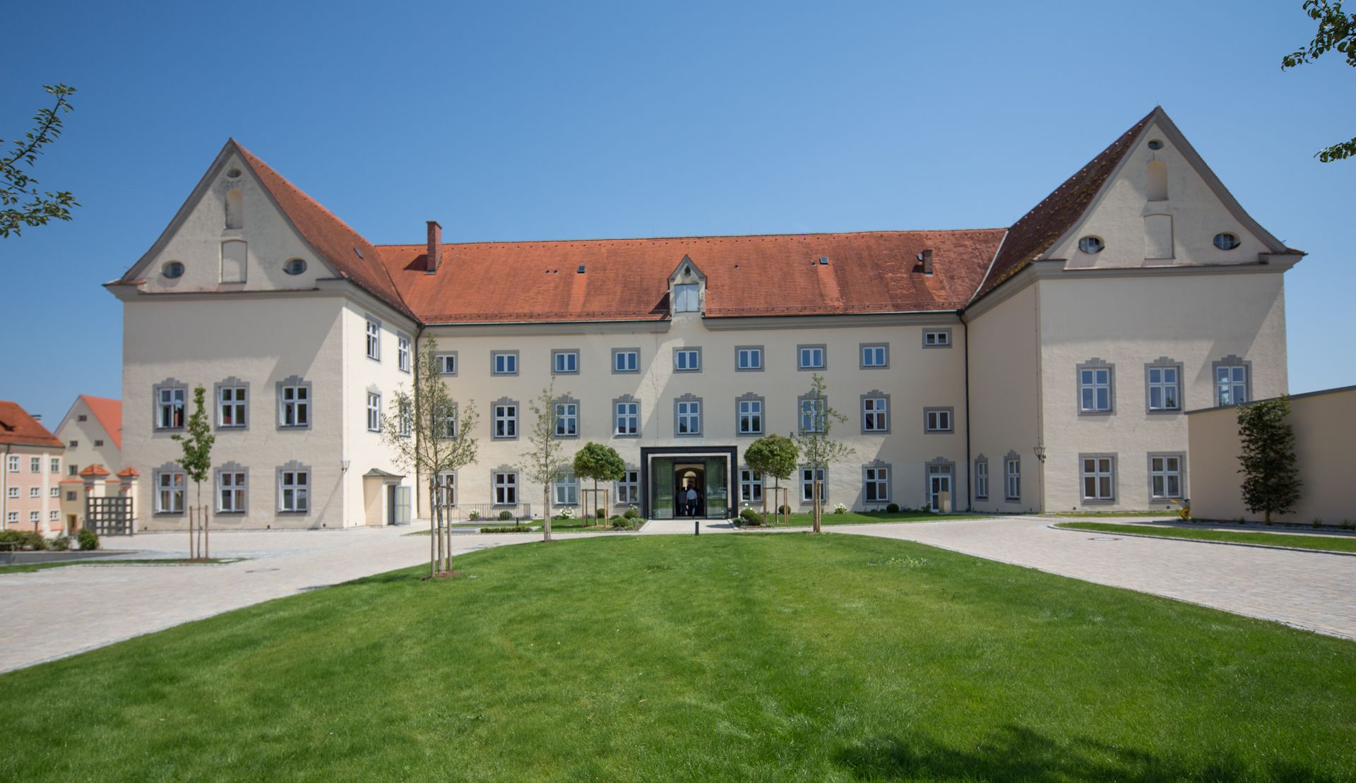 | Hotel Kloster Holzen GmbH  A beautiful hotel high on a hill in rural German farmland
