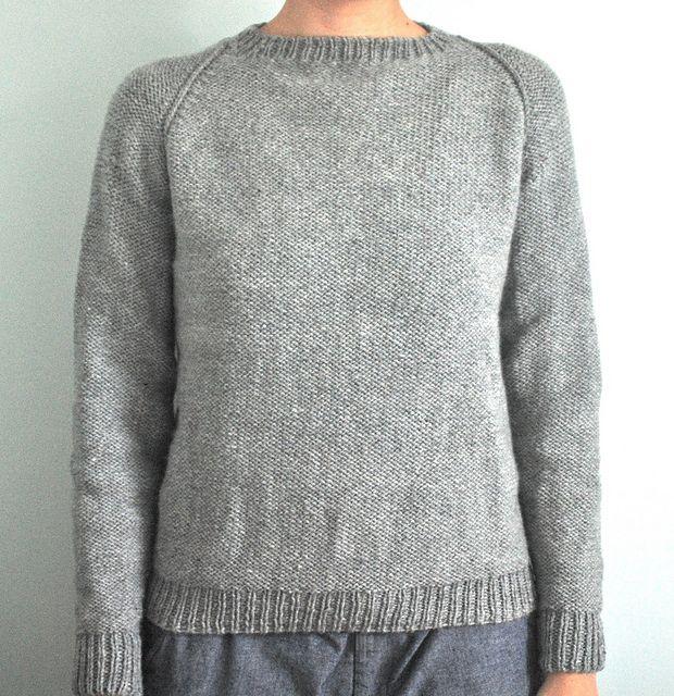 0d9835383d61 Seamless Raglan Sweater - adult pattern by Elizabeth Zimmermann ...