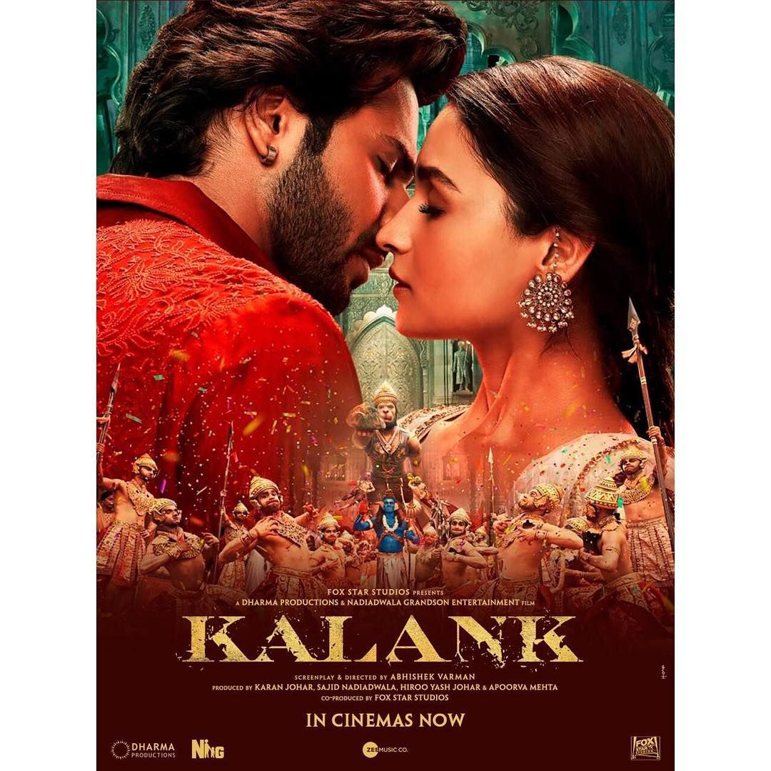 In This World Of Kalank Zafar And Roop Are All The Shades Of Love Witness Their Story In Cinemas Near You Book Your In Cinemas Now Bollywood Images Movies