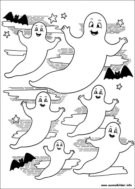 Gespenster Malvorlagen Halloween Halloween Basteln Vorlagen Halloween