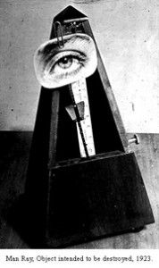 Man Ray, 1923. Object intented to be destroyed.