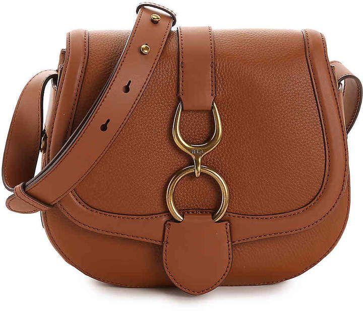 Lauren ralph lauren barrington leather crossbody bag