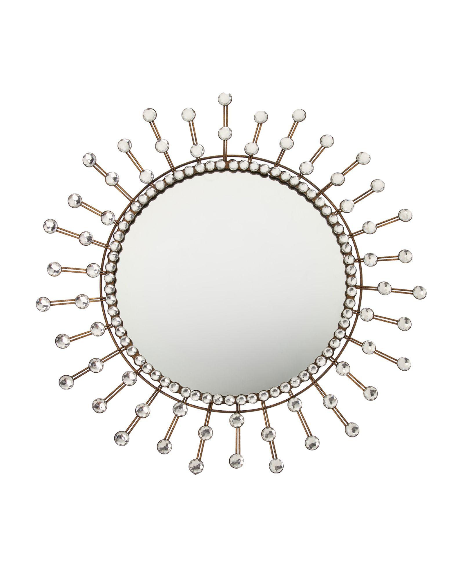 """bbee005848f1 Jt Rose   Company 16"""" Sophia Rae Burst Wall Mirror"""