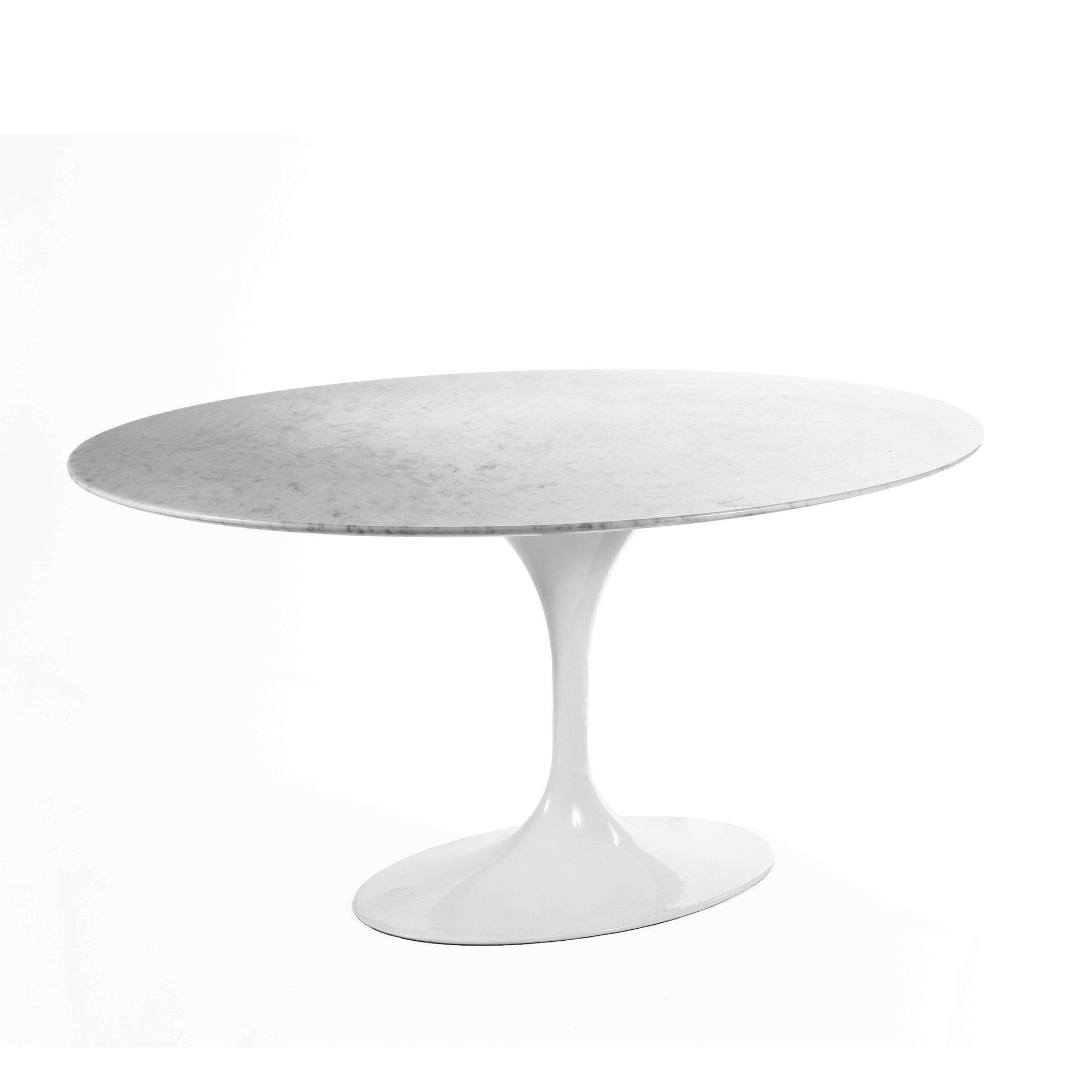 Carrara Marble Tulip Dining Table 60 X 42 Oval Tulip Dining Table Modern Dining Room Tables Dining Table