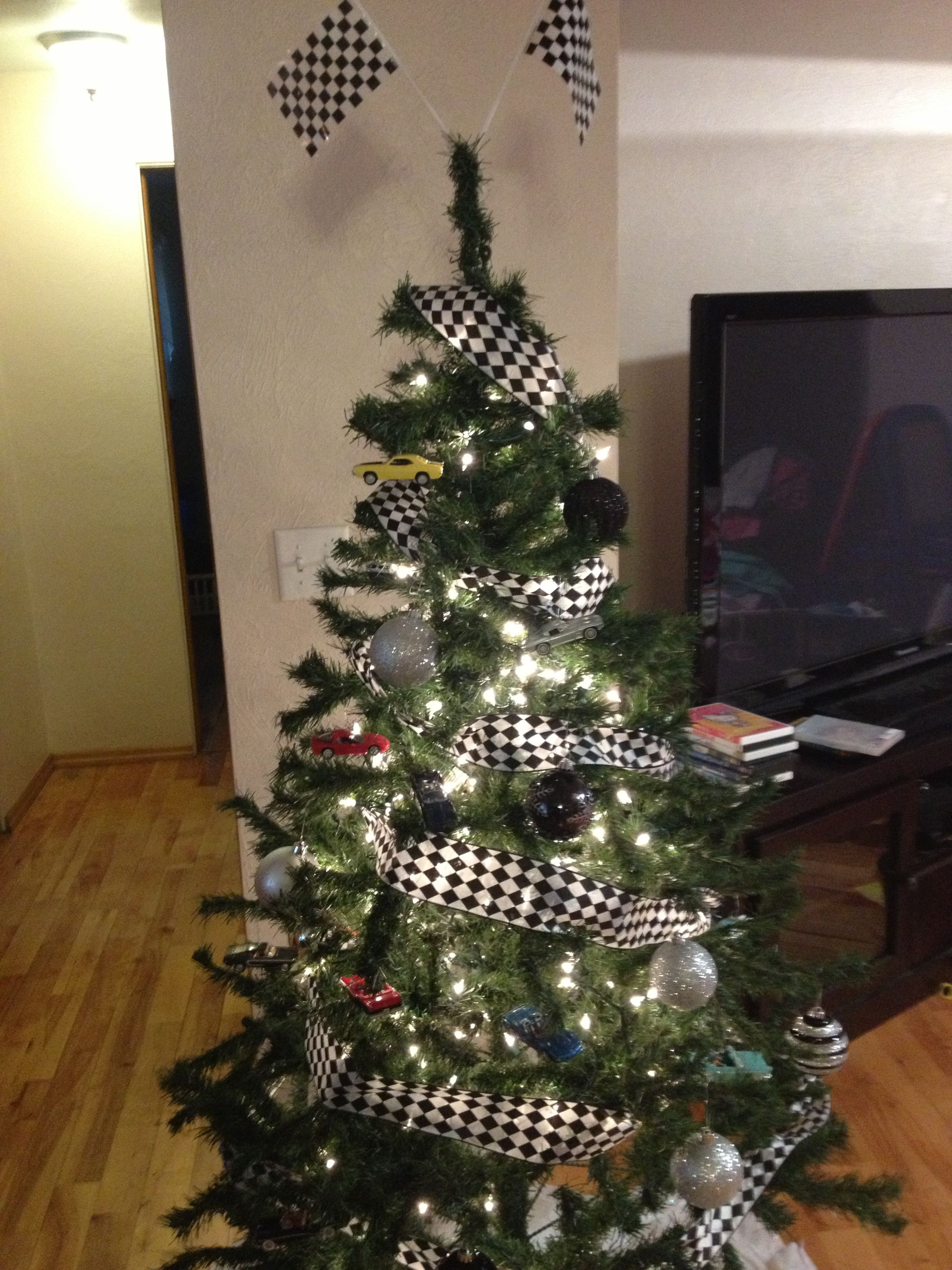 Drag Racing Christmas Tree W Classic Cars I M The Best At Holidays