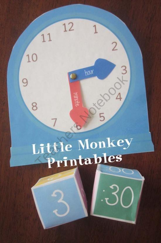 Clock worksheet for 2nd graders