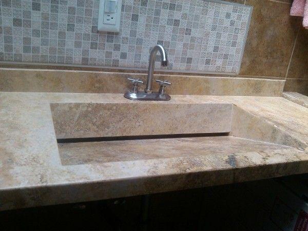 Lavabos de m rmol ideas ba os pinterest marmol - Grifos modernos bano ...