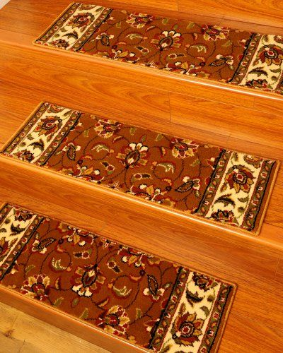 Sunrise carpet stair treads 9 x 29 set of 13 made for Durable carpet for stairs