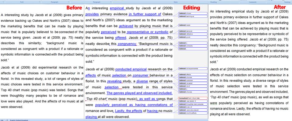 English editing service free online