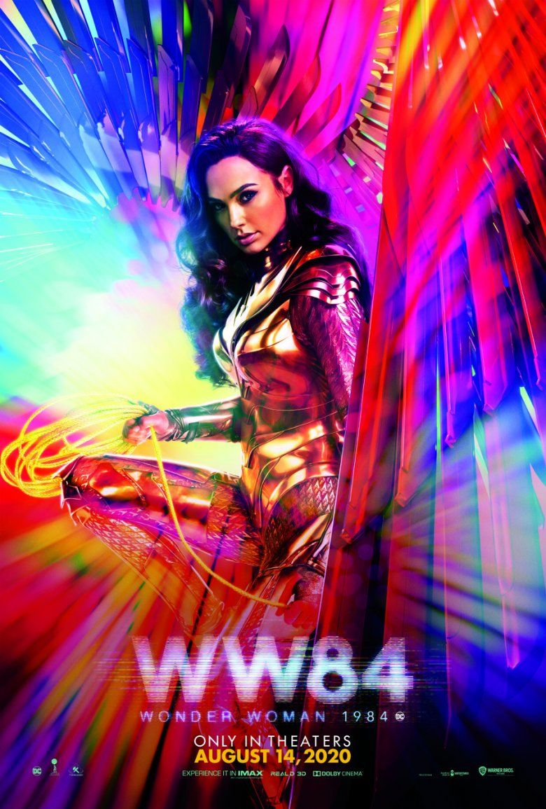 Gorgeous New Wonder Woman 1984 Poster Is Revealing Wonder Woman Gal Gadot Wonder Woman Women