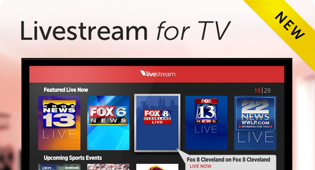 Livestream Roku App to Watch your favorite live events on