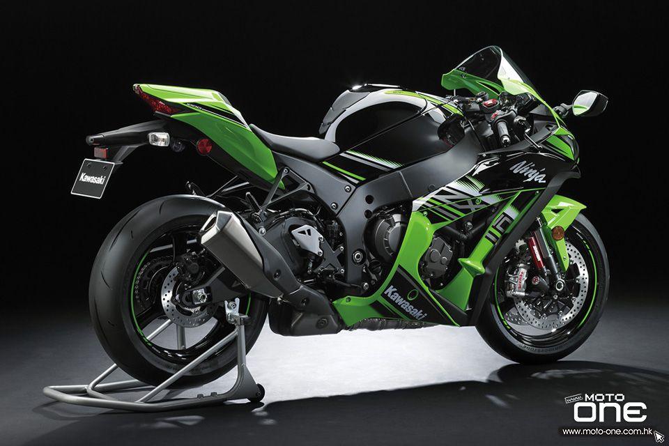Download Wallpapers Kawasaki Ninja Zx 10r 2017 Bikes Superbikes