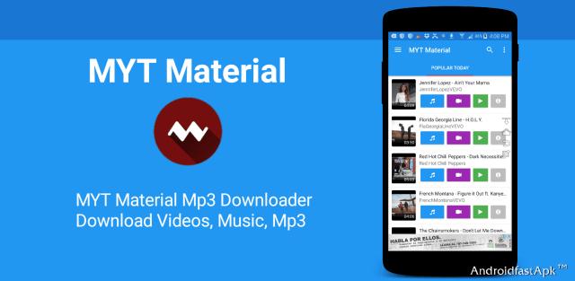 MYT Material Mp3 Downloader v1.0 Youtube y Videos