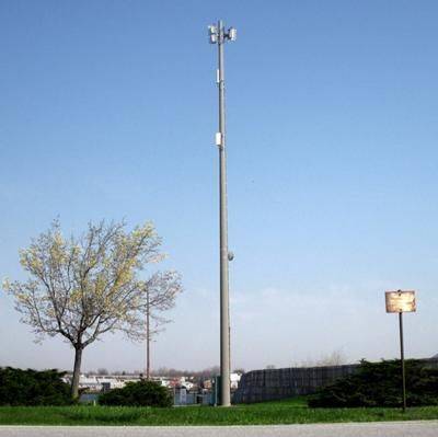 Unsure of the carrier but this mini cell site is located