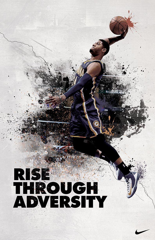 Pin By Easybranding On Peer Sports Graphic Design Sport Poster Design Nike Ad