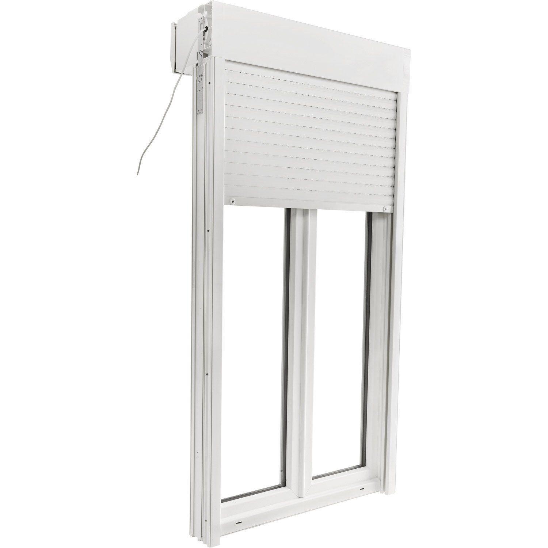 Porte Fenêtre Pvc Avec Volet Roulant Brico Essentiel H215