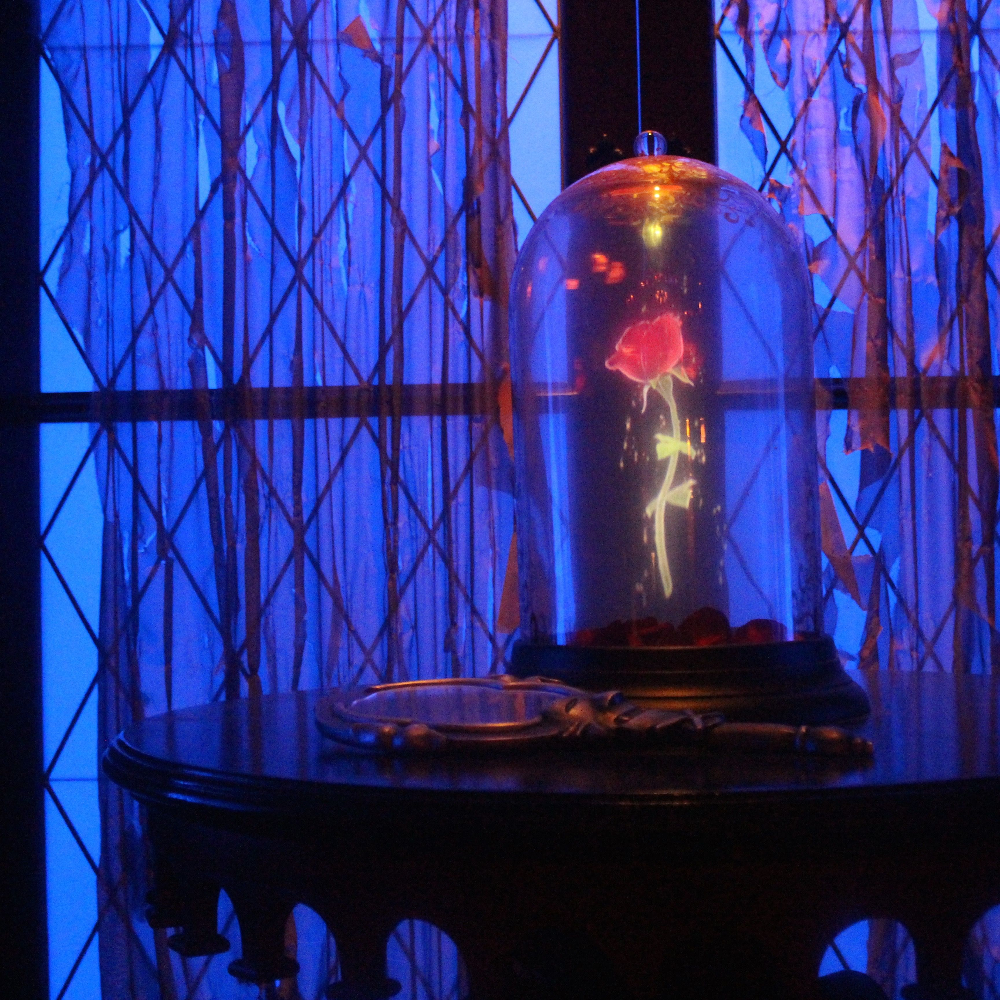 Visit the West Wing of the 'Be Out Guest' restaurant and you'll see the famous rose