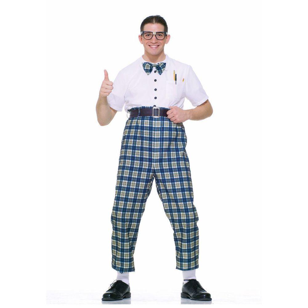 '50s Men Nerd costume, Nerd halloween costumes, Nerd