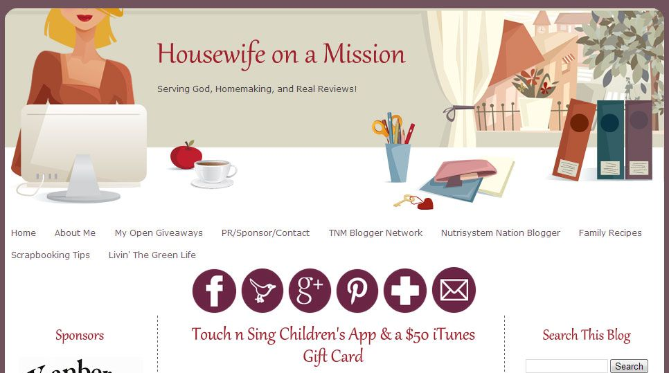 Bigfoot is going Giveaway CRAZY over at Housewife on a Mission! Only a short time left to win a $50 iTunes card!!! http://www.housewifeonamission.com/2013/08/touch-n-sing-childrens-app-50-itunes.html