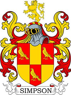 Simpson Coat of Arms