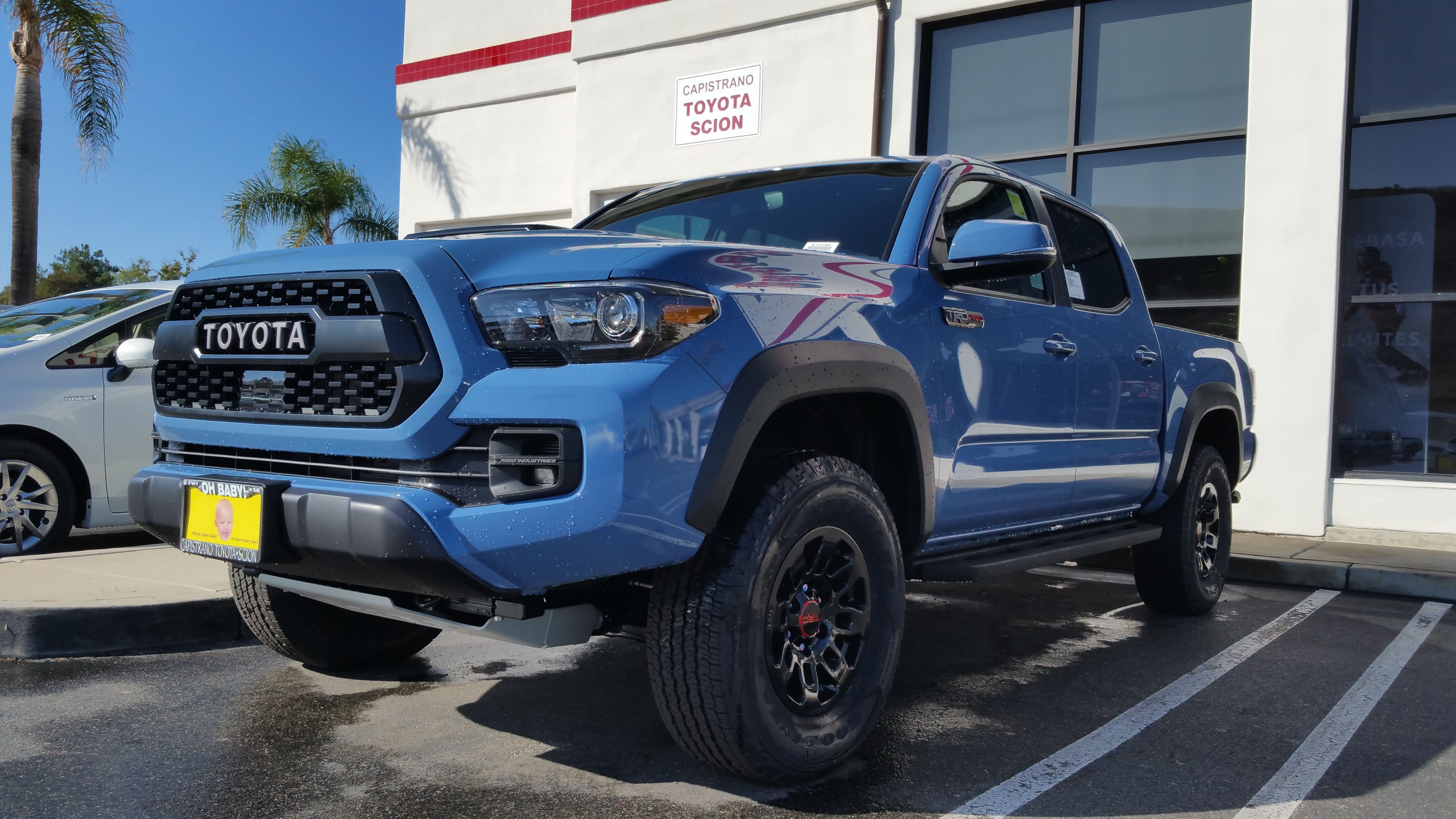 Blue Toyota Tacoma >> Cavalry Blue Stop By Our Dealership Today Toyota Tacoma