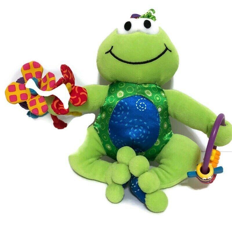 Lamaze Play & Grow Jumpin Jack Frog Sensory Developmental Activity Plush Toy #Lamaze