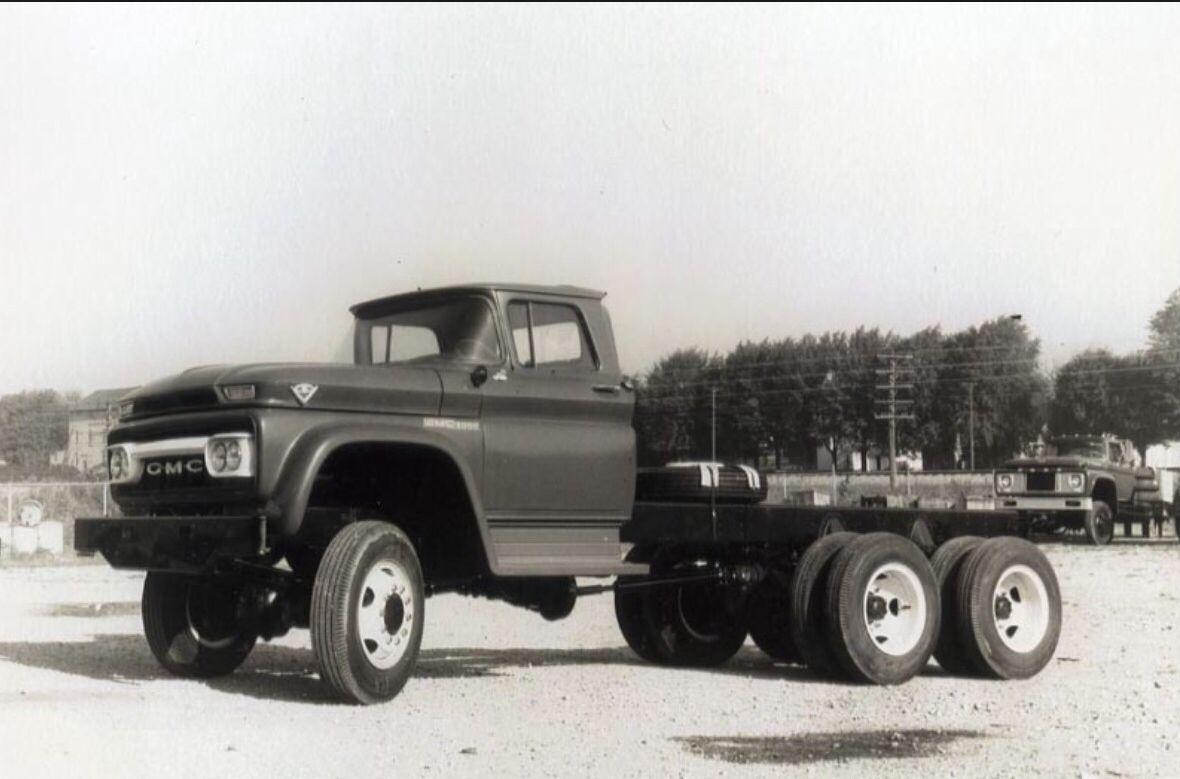 Marmon Herrington Gmc Awd Conversion 6 Wd 6x6 Truck Gmc Trucks Vintage Trucks