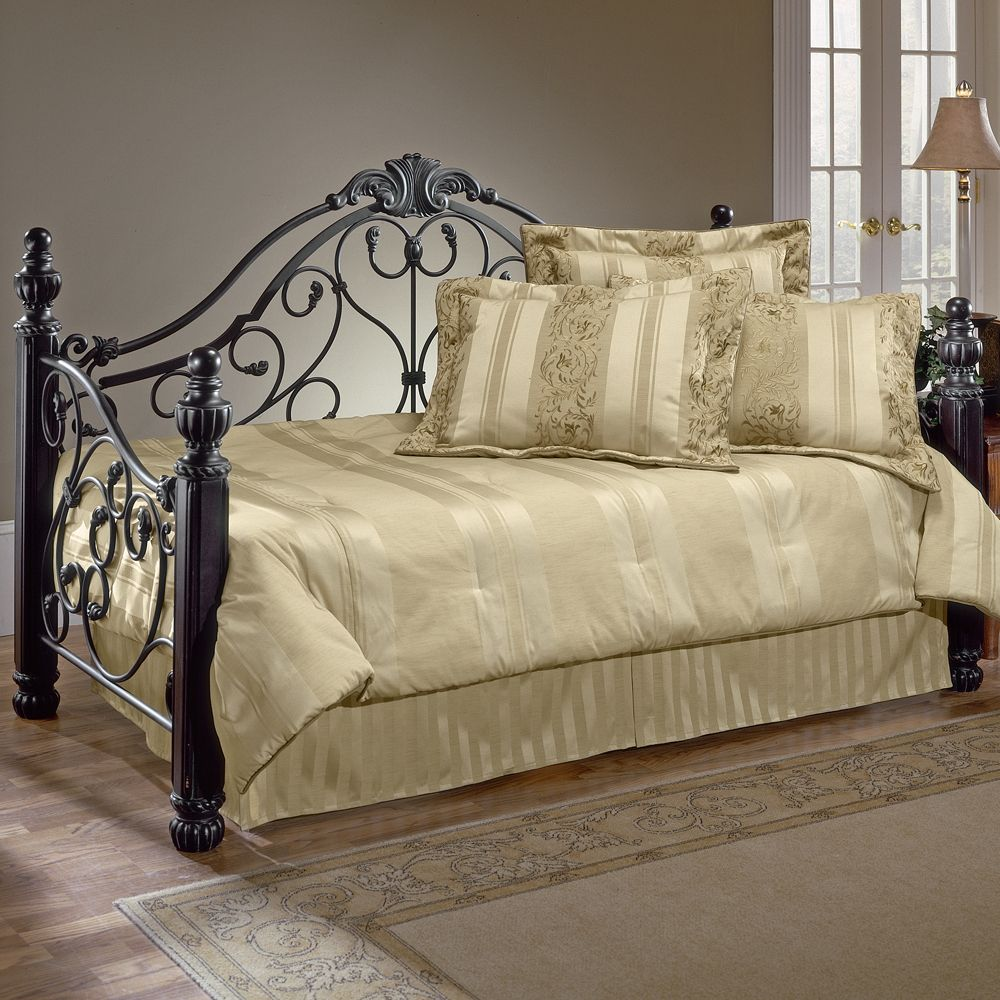 Bonaire Wood Iron Daybed Metal Daybed Daybed With Trundle