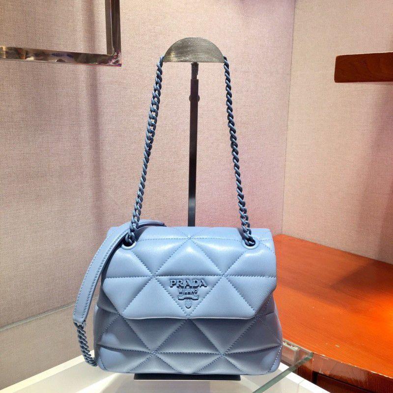Prada 1bd233 Crossbody Bag-22 * 18 * 6CM  – Bolsa de moda