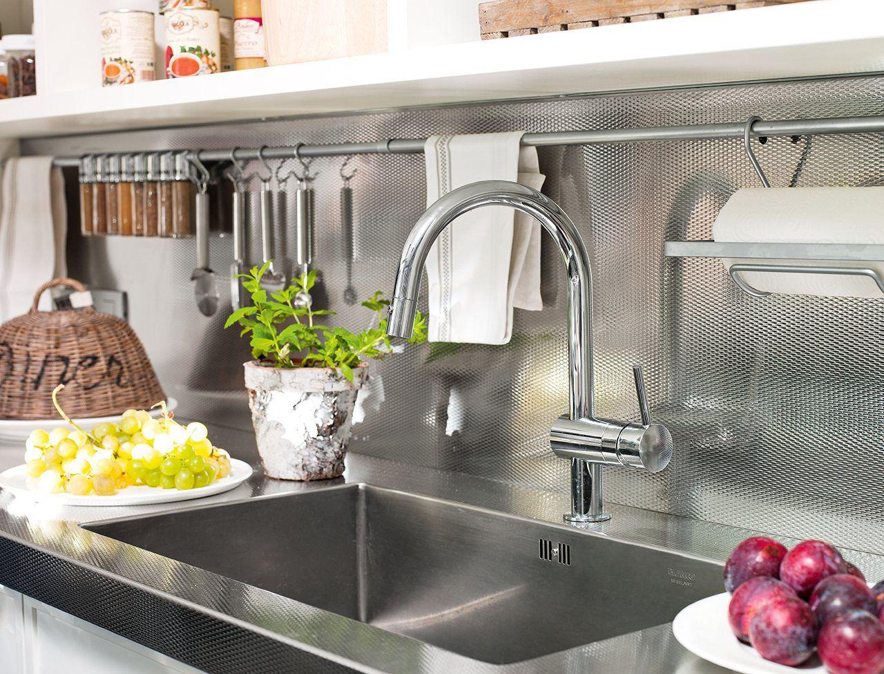 Ideas para aprovechar el espacio en las cocinas pequeñas | RECETAS ...