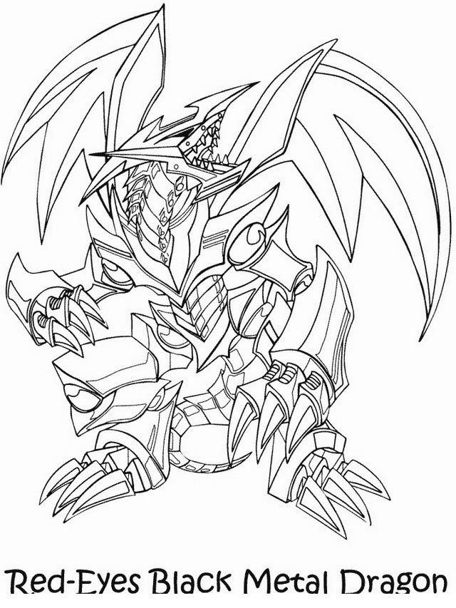 Fargelegging Yu-Gi-Oh. Tegninger 27